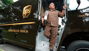 Camion UPS