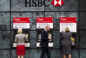 Distributeurs HSBC
