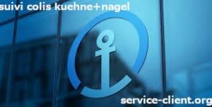 suivi colis Kuehne + Nagel