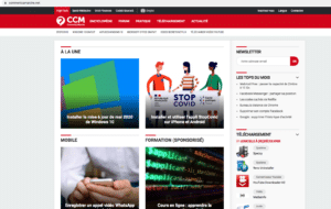 Page Accueil Commentcamarche.net