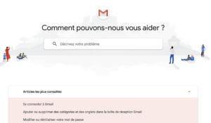 Page Assistance Gmail