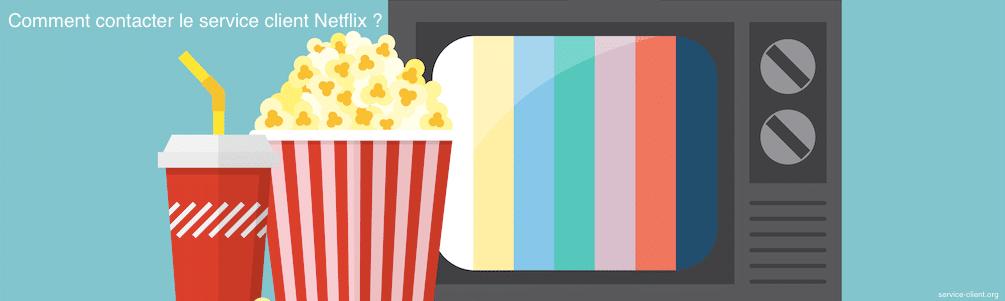 Comment est-il possible de contacter le service client de Netflix ?