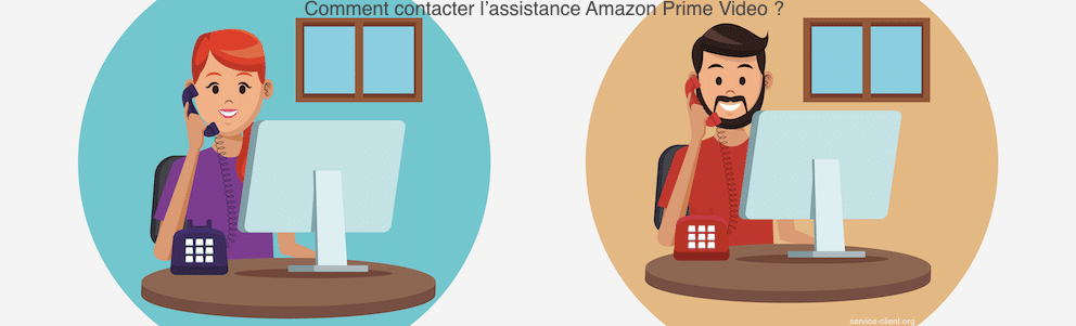 Comment contacter le service client d'Amazon Prime Video ?