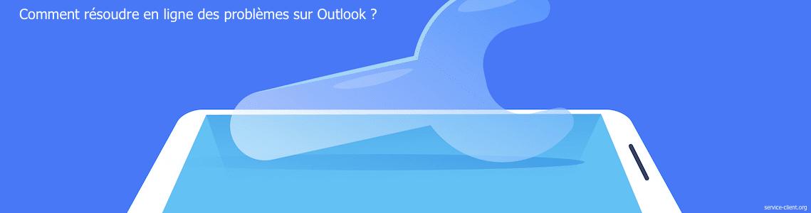 Comment puis-je obtenir une assistance en ligne pour Outlook ?
