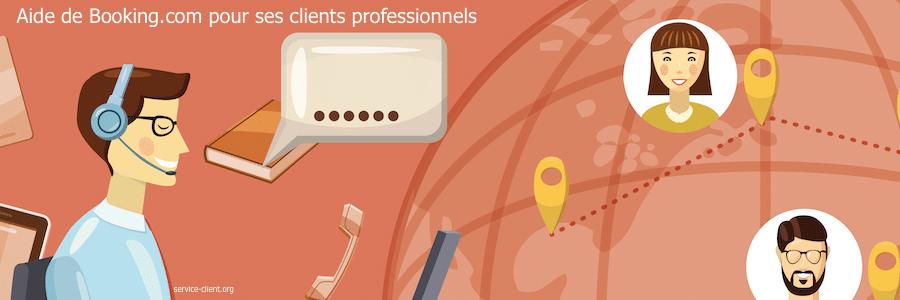 Comment obtenir de l'aide de Booking.com en tant que client propriétaire ?