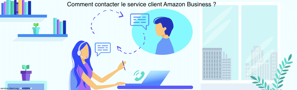 Comment puis-je contacter le service client d'Amazon Business ?