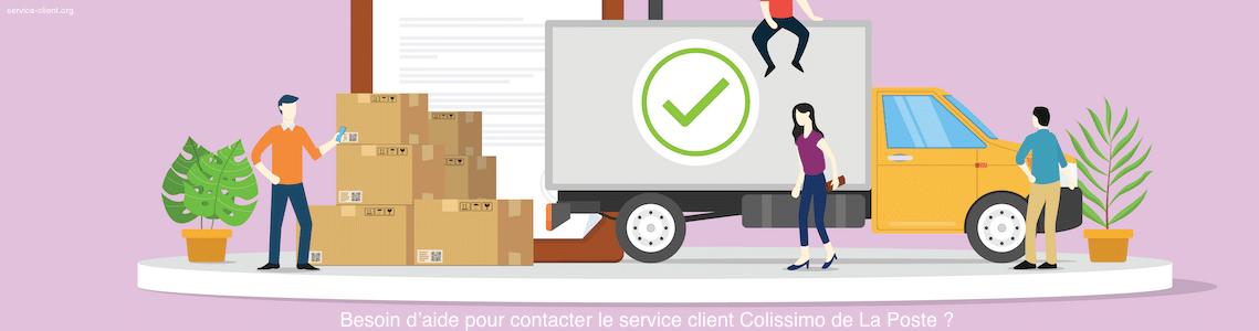 Comment contacter le service client de Colissimo (La Poste) ?