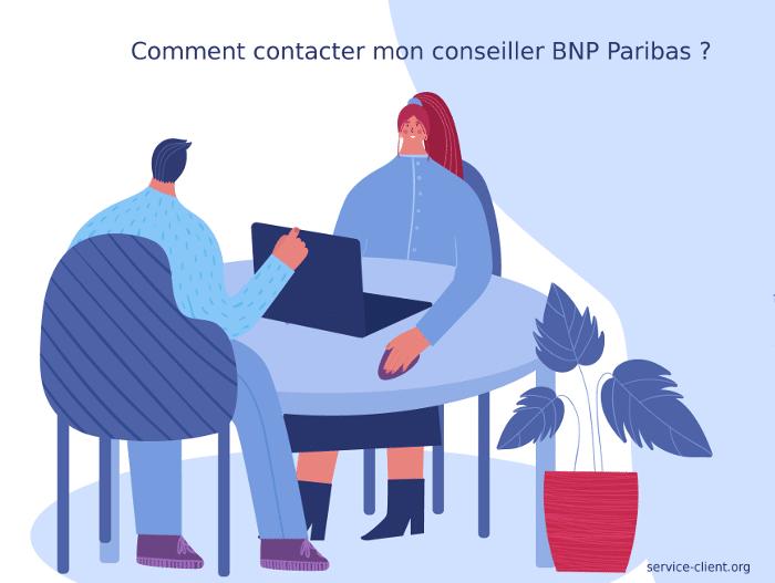 Comment contacter son conseiller BNP Paribas ?
