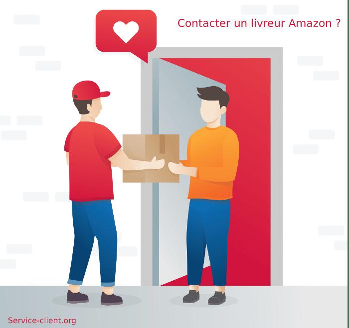Comment contacter un livreur Amazon ?