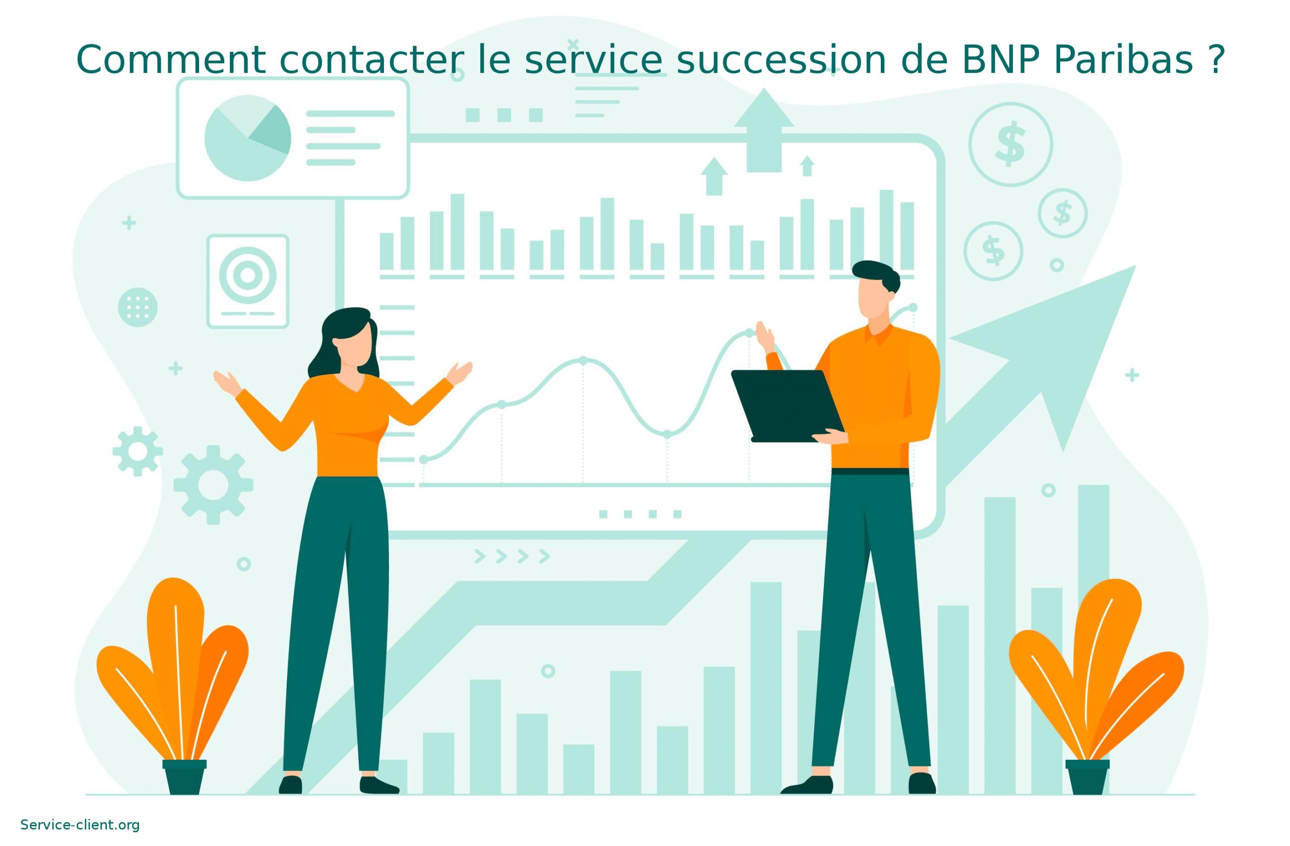 Comment contacter le service succession de BNP Paribas ?