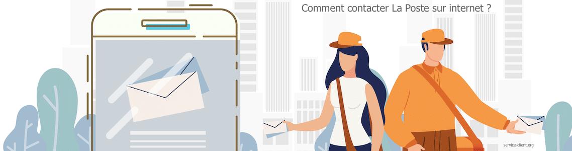 Comment entrer en contact avec La Poste par internet ?