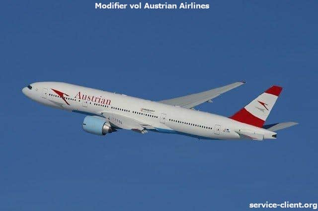 vol austrian airlines