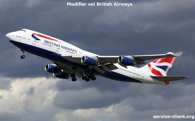 vol british airways