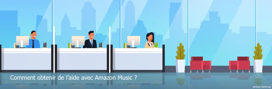 Comment résoudre un problème avec Amazon Music ?