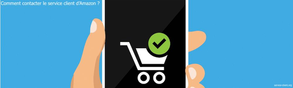Comment entrer en contact avec le service client d'Amazon ?