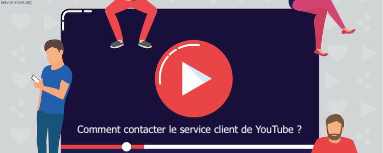 Comment contacter le service client Youtube ?