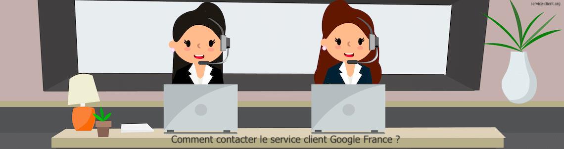 Comment entrer en contact avec le service client de Google France ?