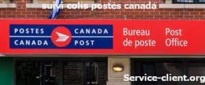 suivre colis postes canada
