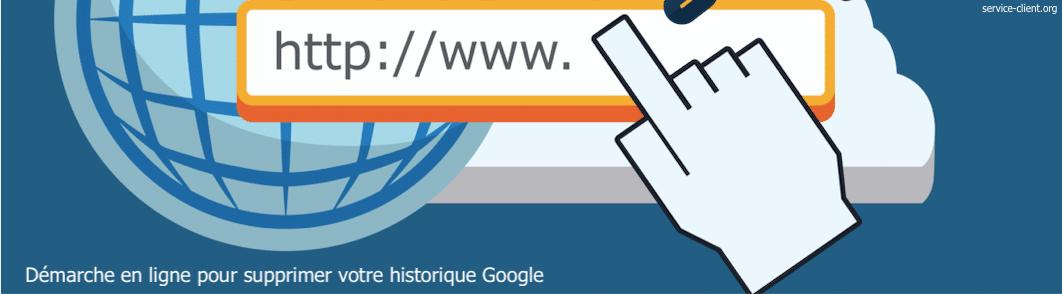 Historique Google : comment le supprimer ?